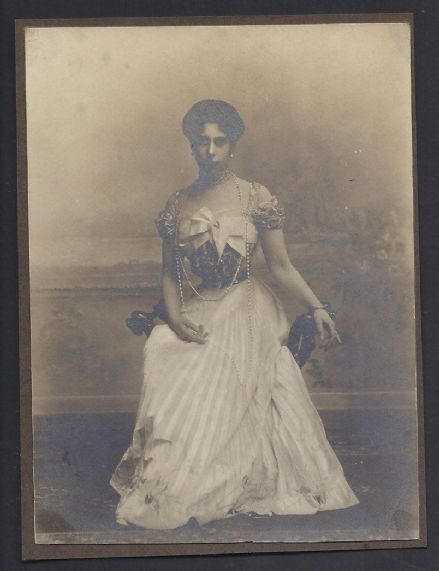 Antique Photo of Grand Duchess Victoria Melita of Imperial Russia